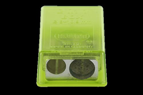 Magnesiumanspitzer mit kleinem Kunststoffbehälter Auch mit Kunststoffanspitzer erhältlich.