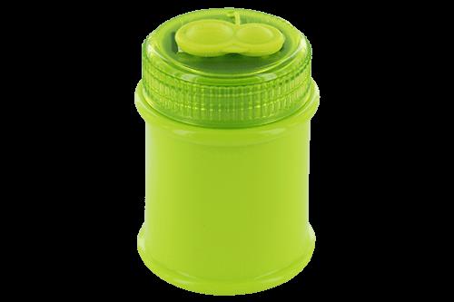 Magnesiumanspitzer mit Kunststoffbehälter und Staubverschluss