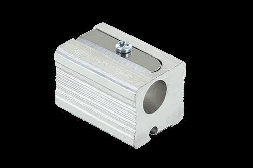Magnesium Doppelanspitzer, Blockform mit seitlichen Riefen