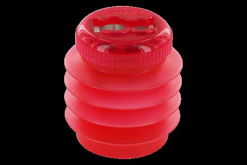 Magnesiumanspitzer mit Softie® Kunststoffbehälter, unzerbrechlich und flexibel, als Einfach- oder Doppelspitzer erhältlich